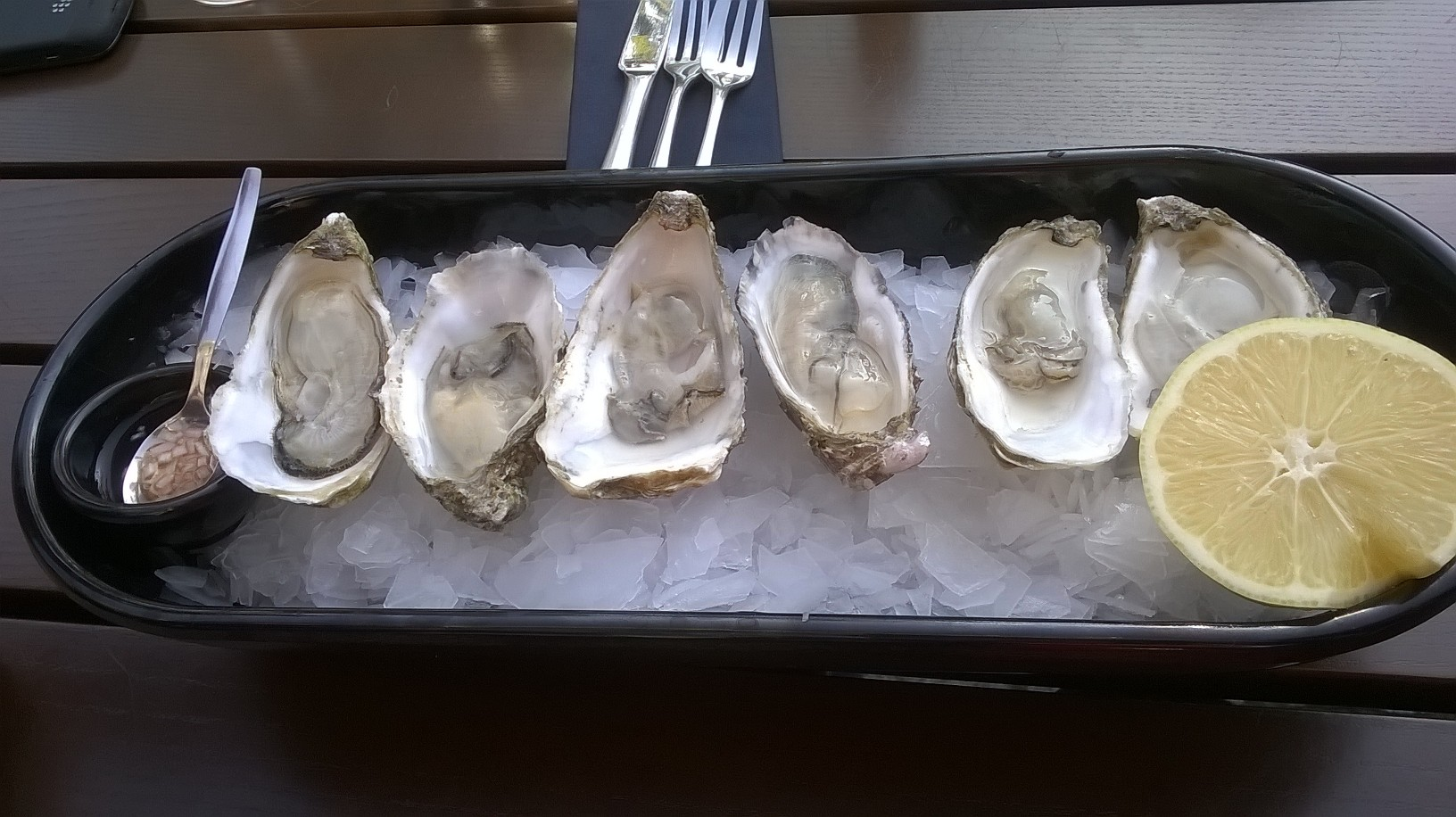 Brasserie Stadhuis - oysters